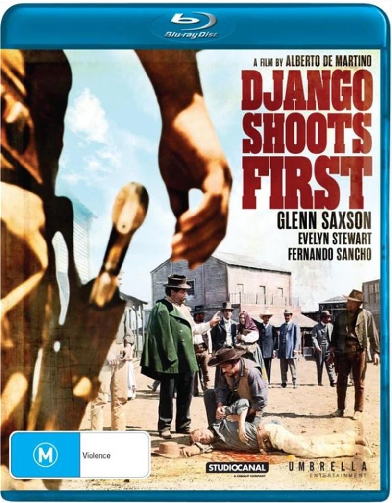 Django Shoots First   Blu-ray