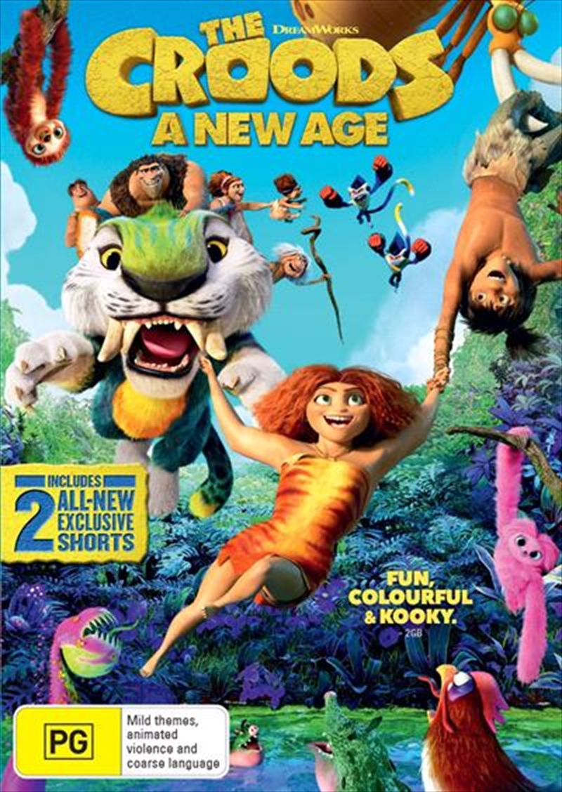 Croods - A New Age, The | DVD