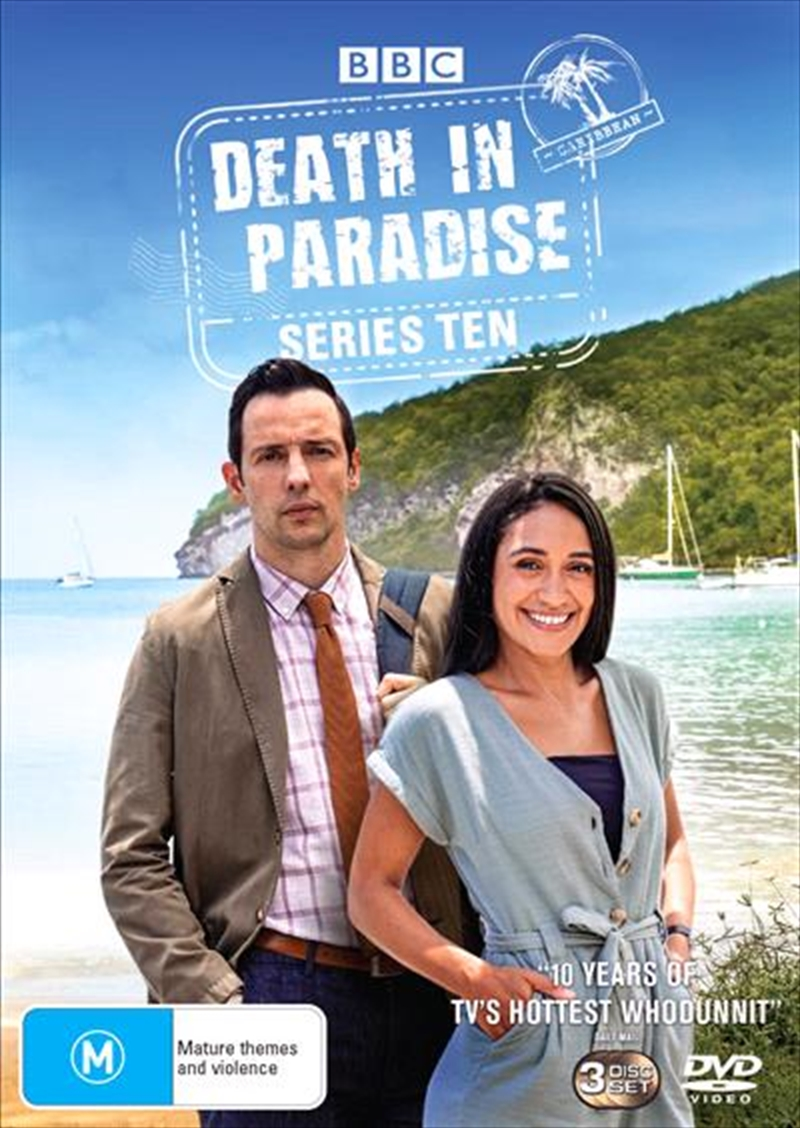 Death In Paradise - Series 10 | DVD