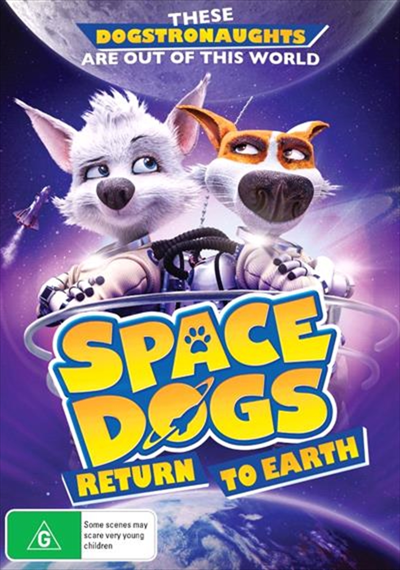 Space Dogs Return To Earth | DVD