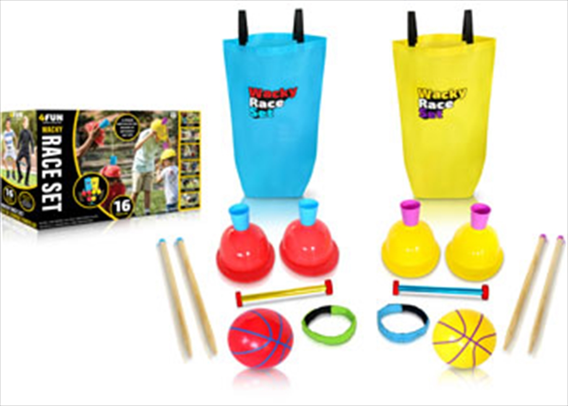 Wacky Race Obstacle Course | Toy
