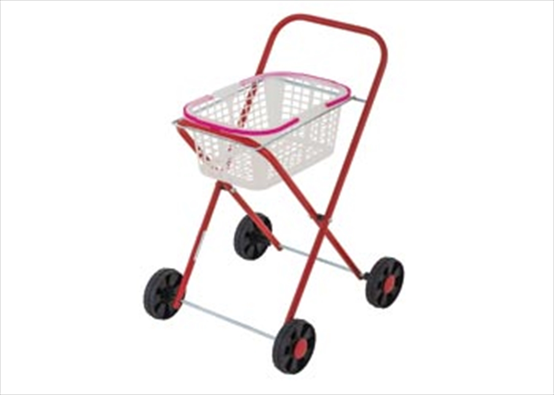 Metal Clothes Trolley Basket   Toy