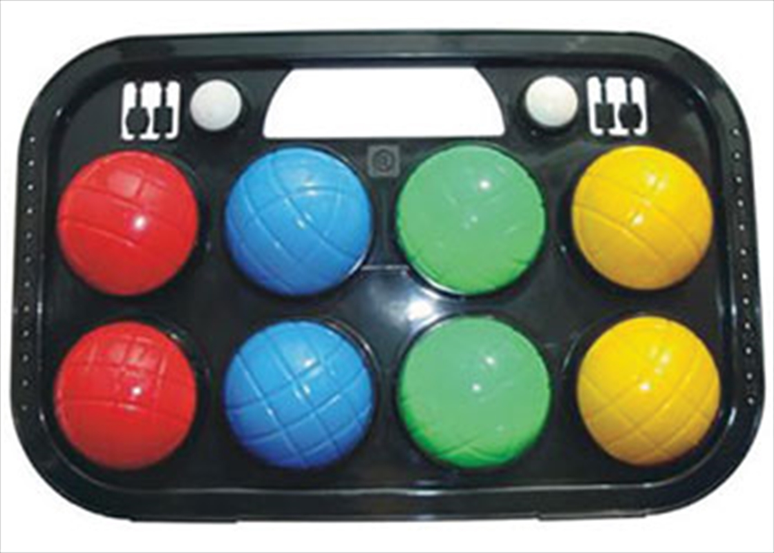 8 Piece Bocce Ball Set In Case   Toy