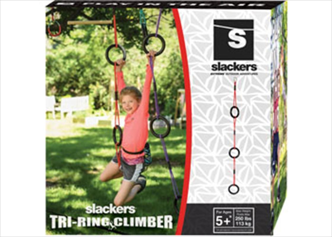Tri Ring Vine Climber   Toy