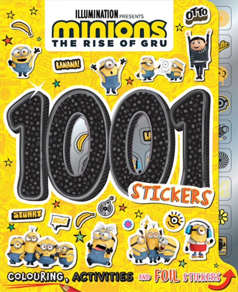 Minions The Rise Of Gru - 1001 Stickers | Books