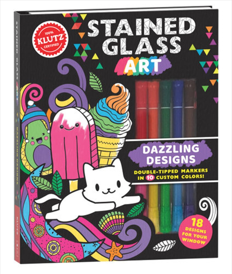 Stained Glass Art: Dazzling Designs | Books