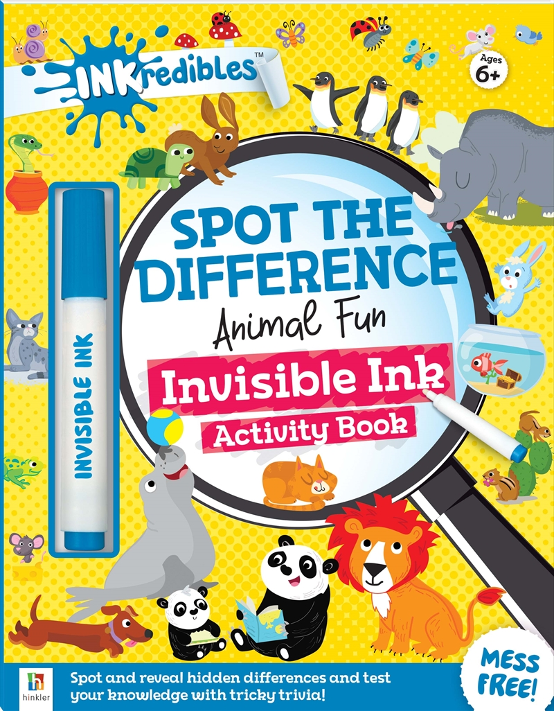 Inkredibles Spot the Difference: Animal Fun | Books