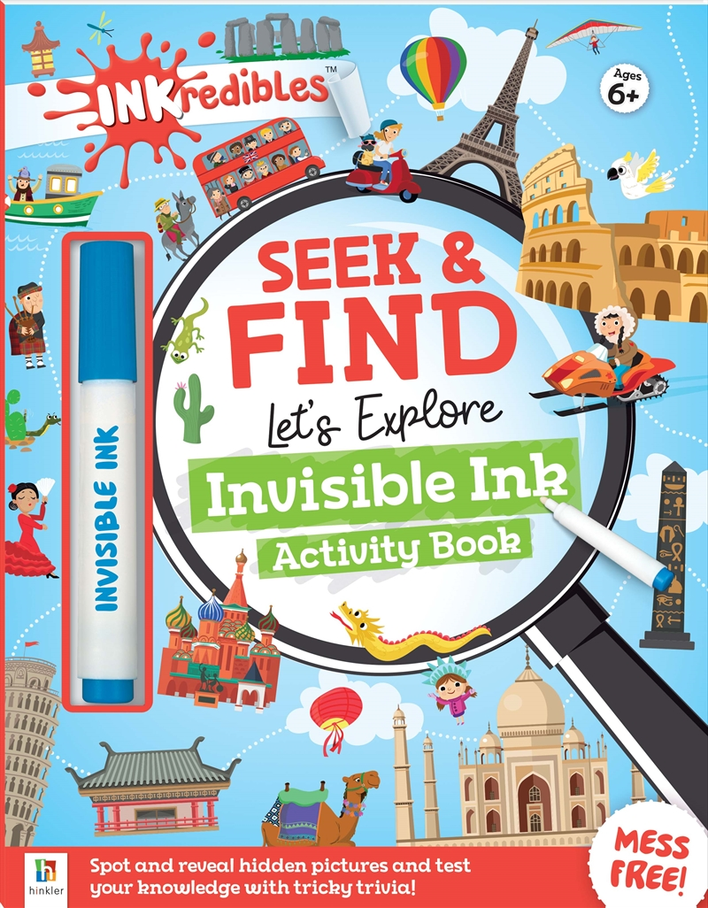 Inkredibles Seek and Find: Let's Explore   Books