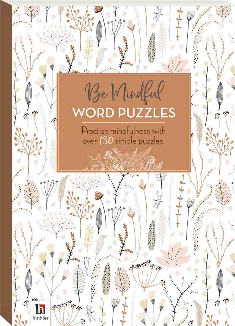 Be Mindful Word Puzzles | Books