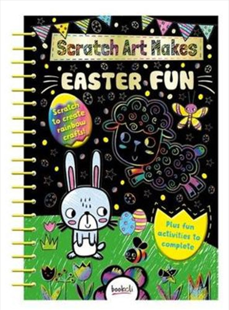 Scratch Art Makes Easter Fun | Books