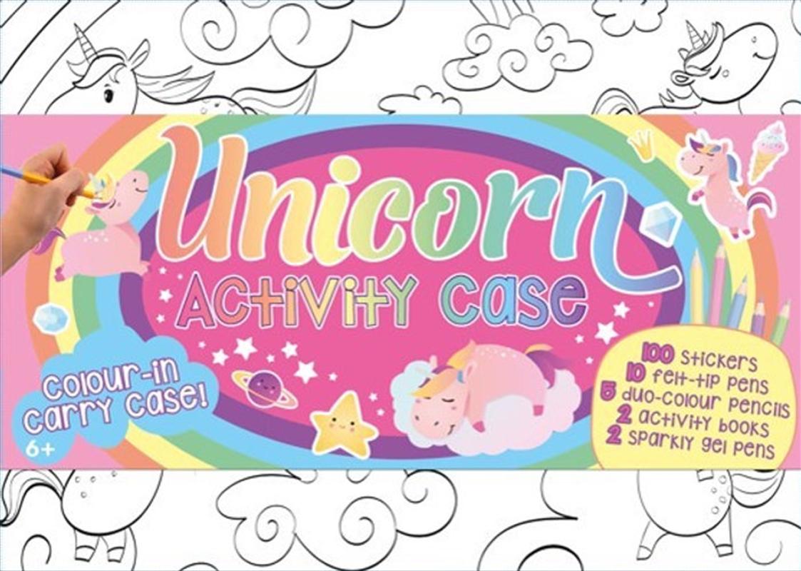 Colour & Carry Activity Kit Unicorn Activity Case | Books