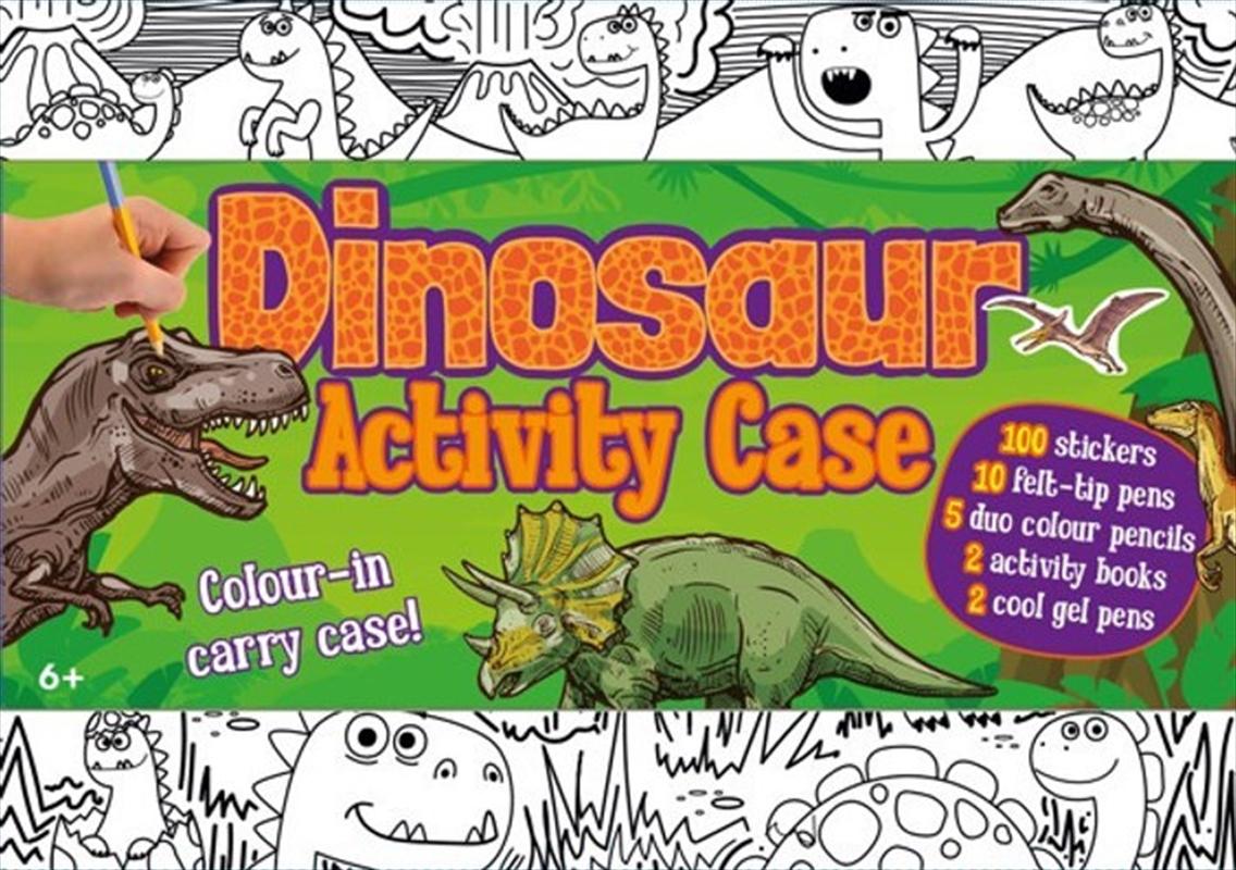 Colour & Carry Activity Kit Dinosaur Activity Case | Books