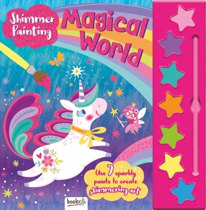 Shimmer Painting Magical World   Books