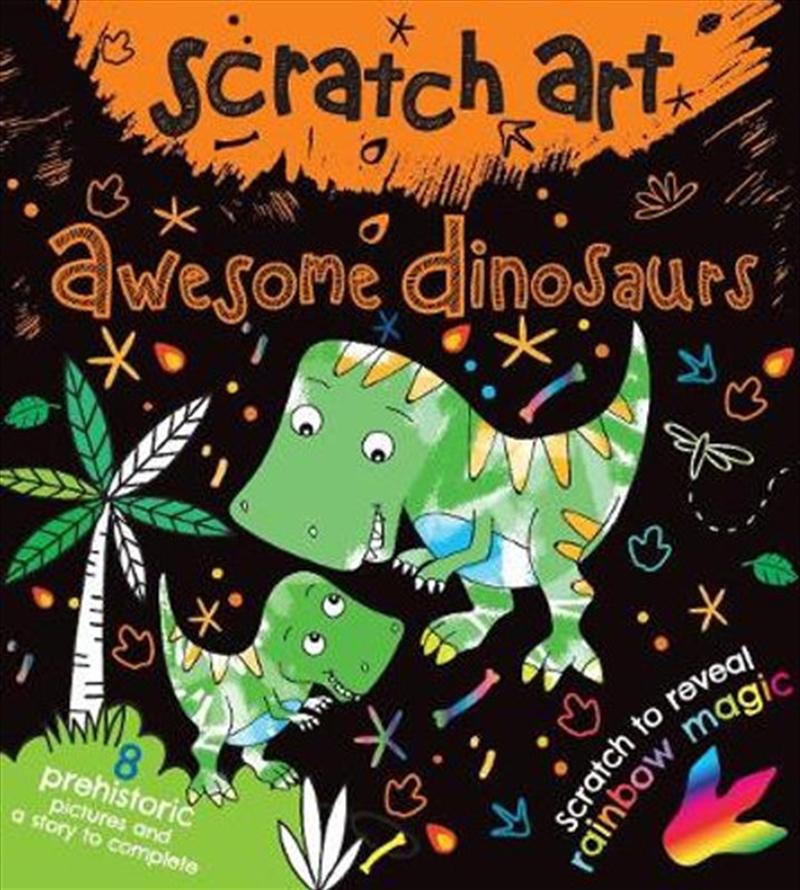 Scratch Art Fun Mini Dinosaurs | Books