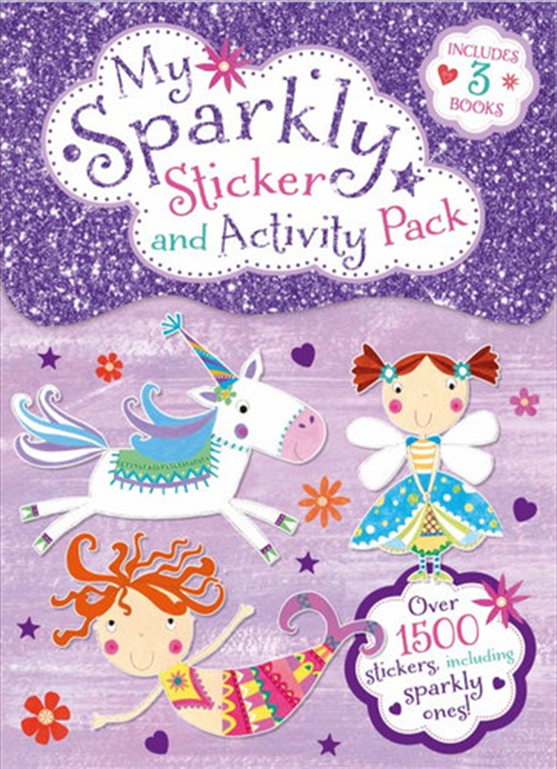 Sticker & Activity Pack Sparkly Stickers | Books
