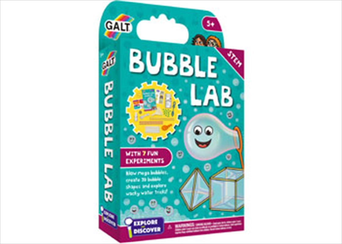 Bubble Lab   Books