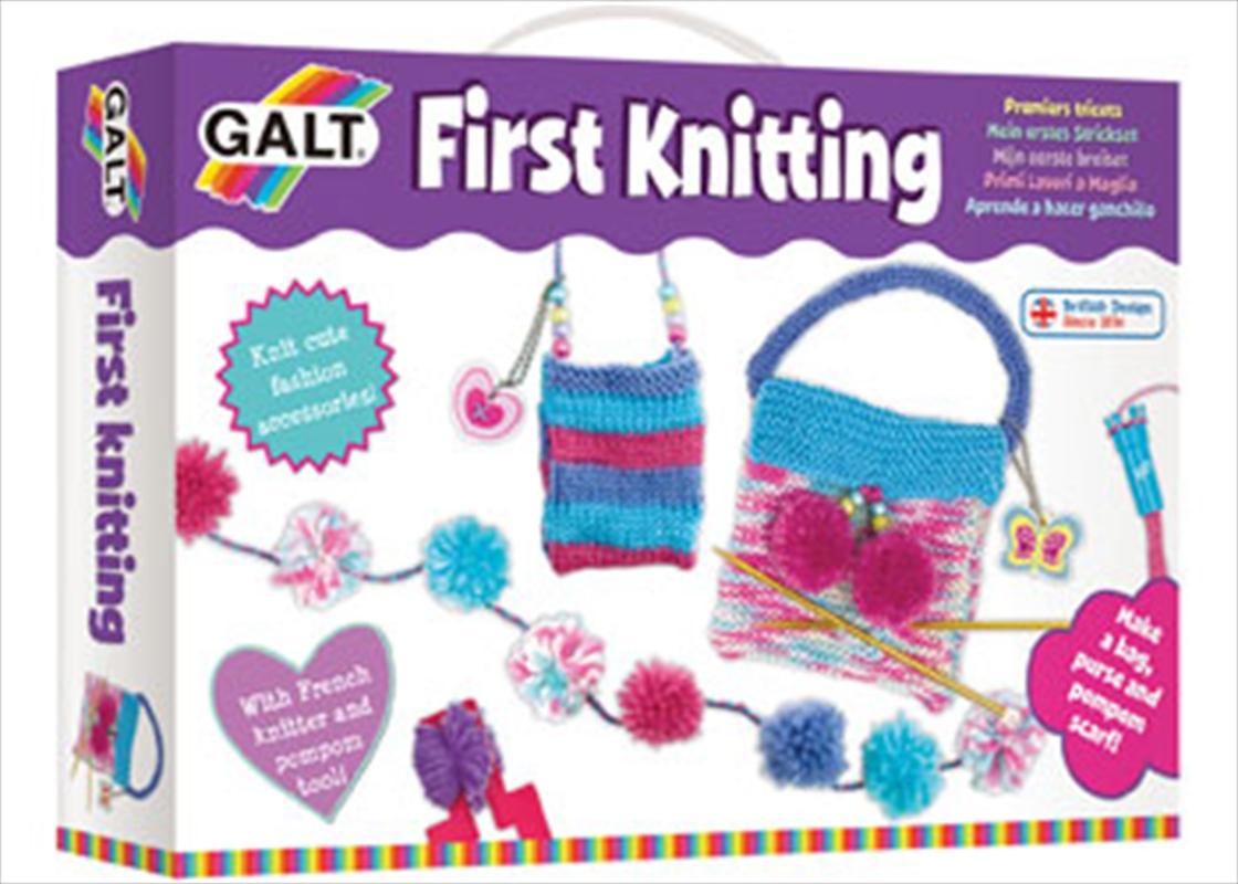 First Knitting   Books