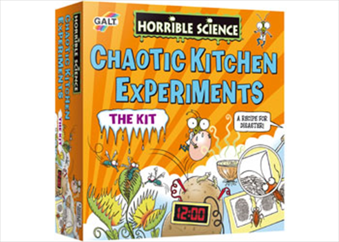 Horrible Science - Chaotic Kitchen Experiment | Books