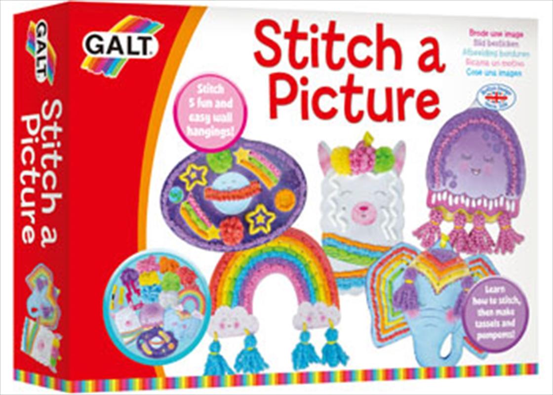 Galt - Stitch A Picture | Books