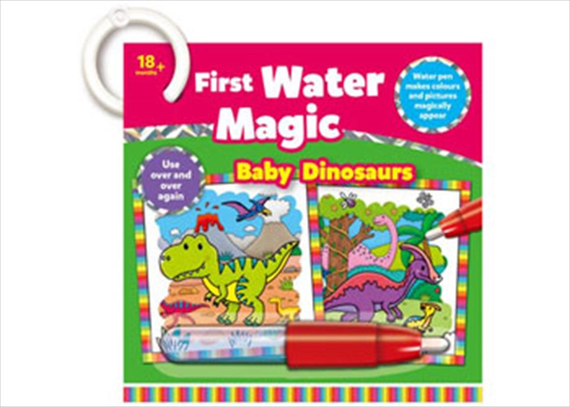 Water Magic Baby Dinosaurs   Books