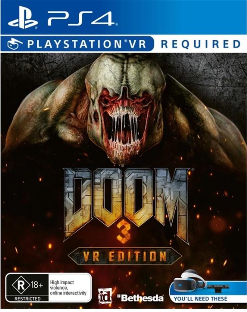 Doom 3 VR Edition | PlayStation 4