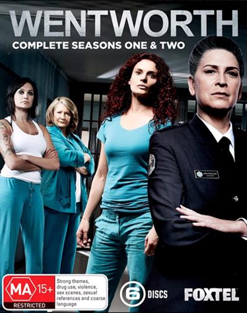 Wentworth - Season 1-2 | Boxset | Blu-ray