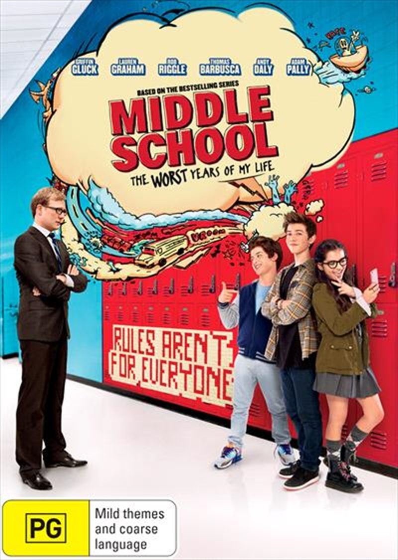 Middle School - The Worst Years of My Life | DVD