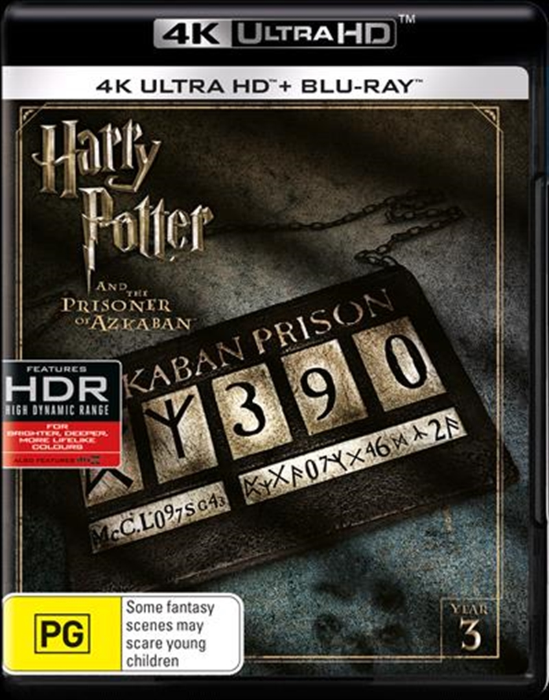 Harry Potter And The Prisoner Of Azkaban | Blu-ray + UHD - Year 3 | UHD