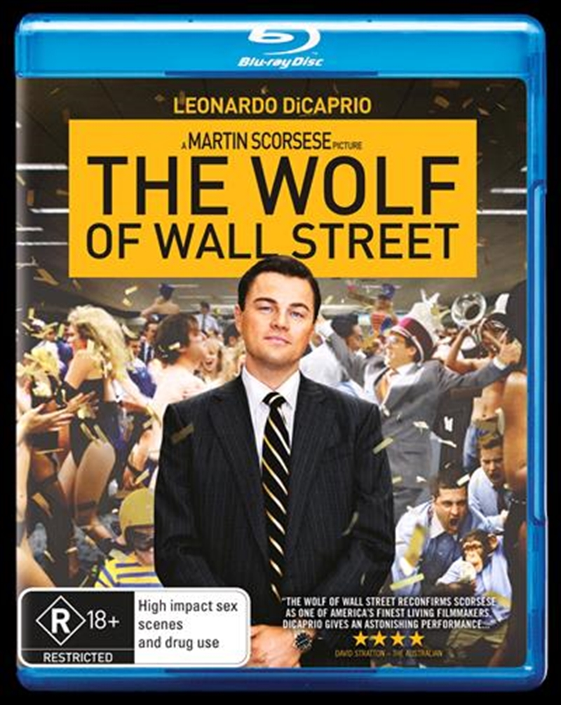 Wolf Of Wall Street, The | Blu-ray