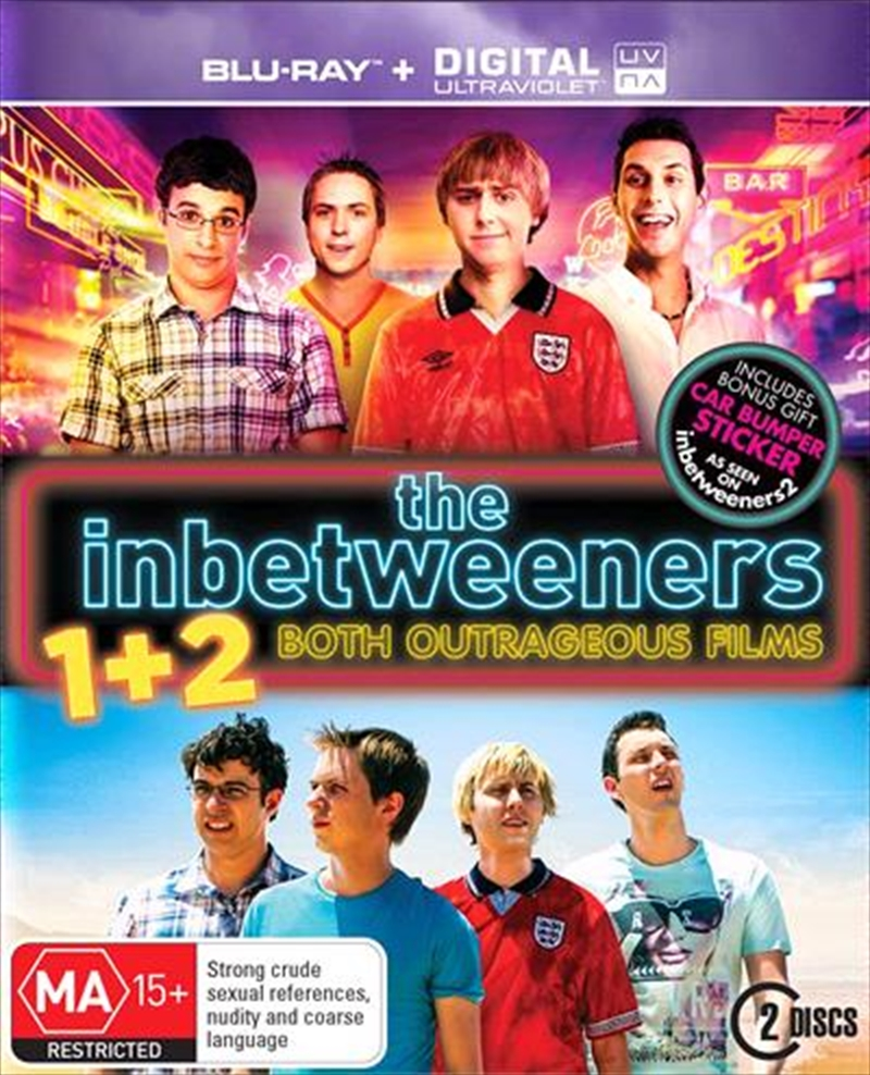 Inbetweeners Movie / The Inbetweeners 2 | UV - Gift With Purchase, The | Blu-ray