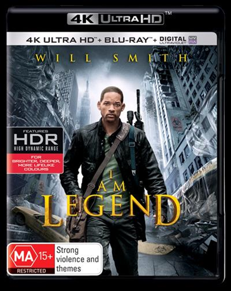 I Am Legend | Blu-ray + UHD + UV | UHD