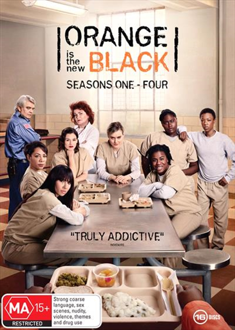 Orange Is The New Black - Season 1-4 | Boxset | DVD
