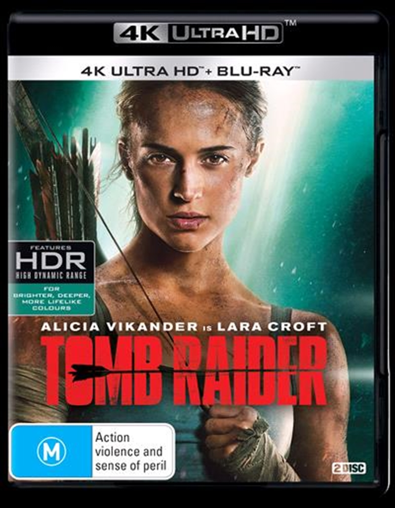 Tomb Raider | Blu-ray + UHD | UHD