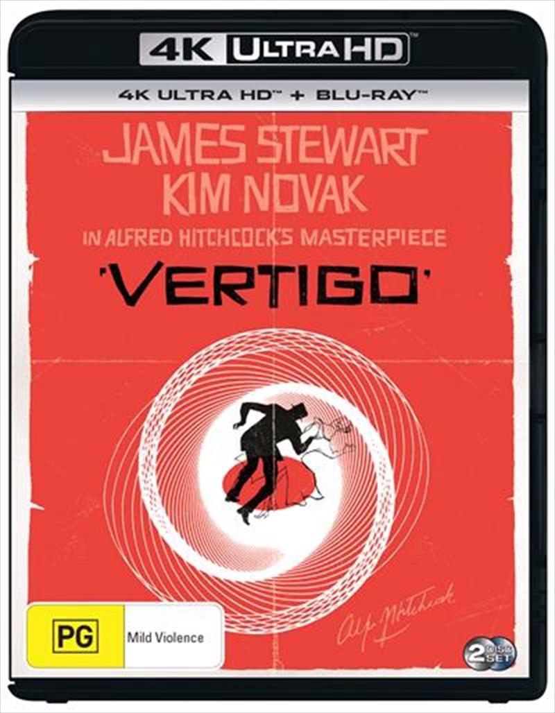 Vertigo   Blu-ray + UHD   UHD