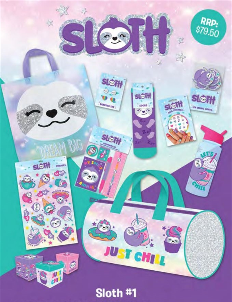 Sloth Showbag | Merchandise