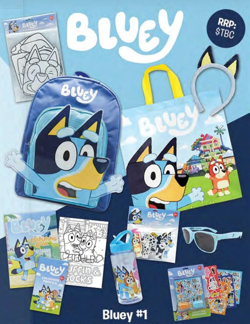 Bluey Showbag   Merchandise