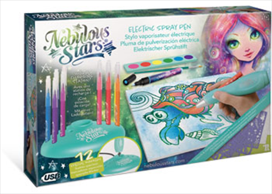 Electric Spray Pen Deluxe Set   Toy