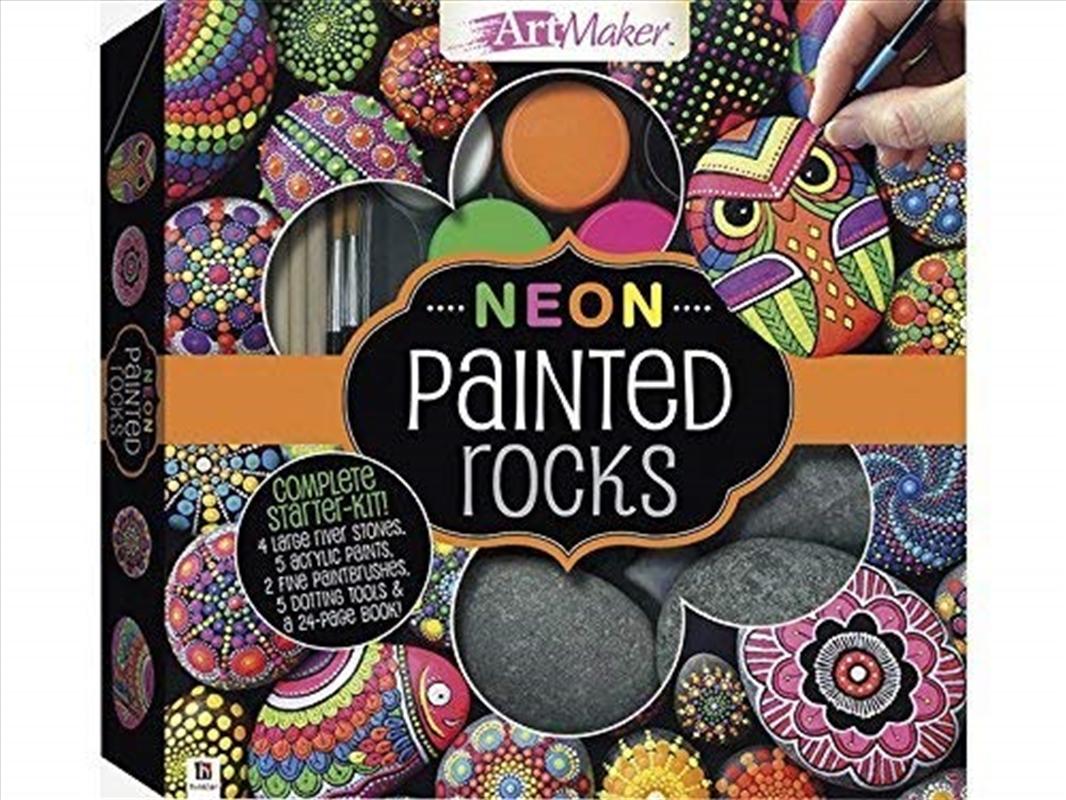 Neon Painted Rocks Kit | Merchandise