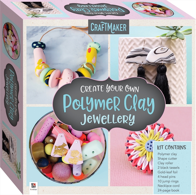CraftMaker Create Your Own Polymer Clay Jewellery (2021 ed) | Merchandise