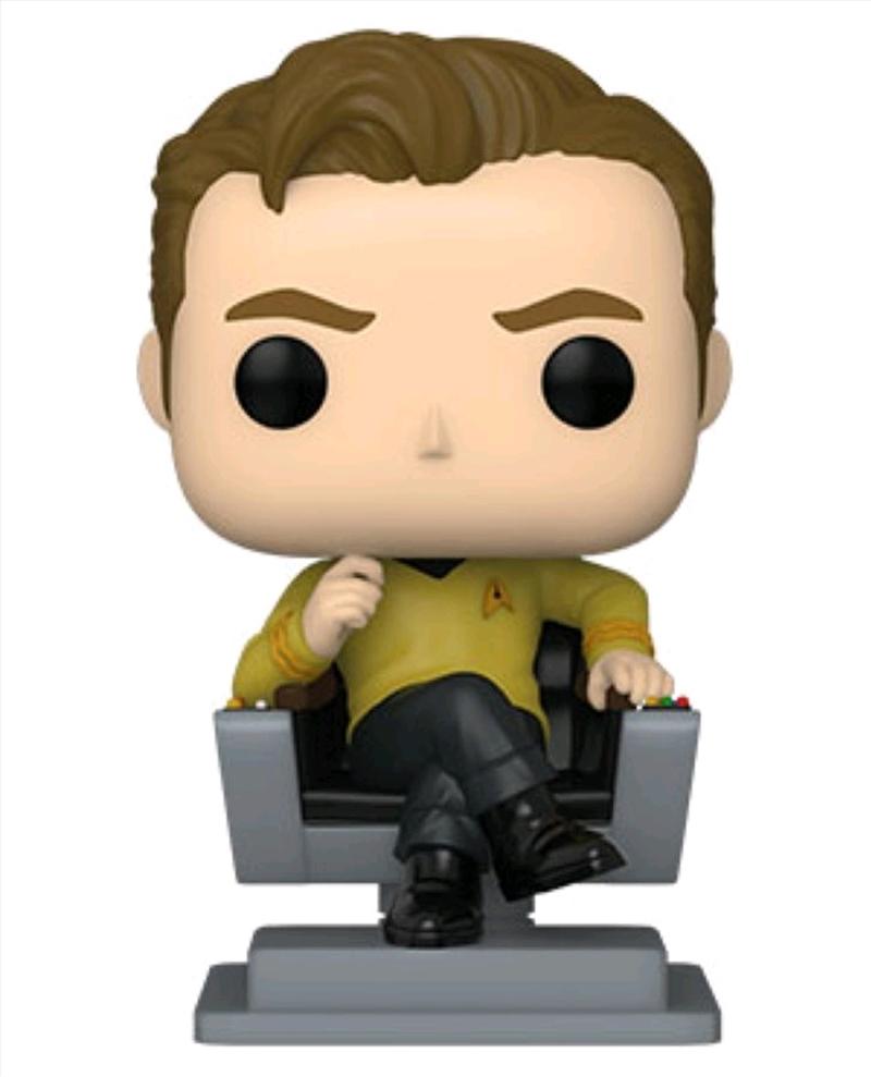 Star Trek: The Original Series - Captain Kirk in Chair Pop! Vinyl   Pop Vinyl