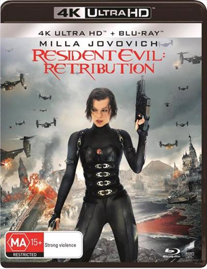 Resident Evil - Retribution - Limited Edition | Blu-ray + UHD | UHD