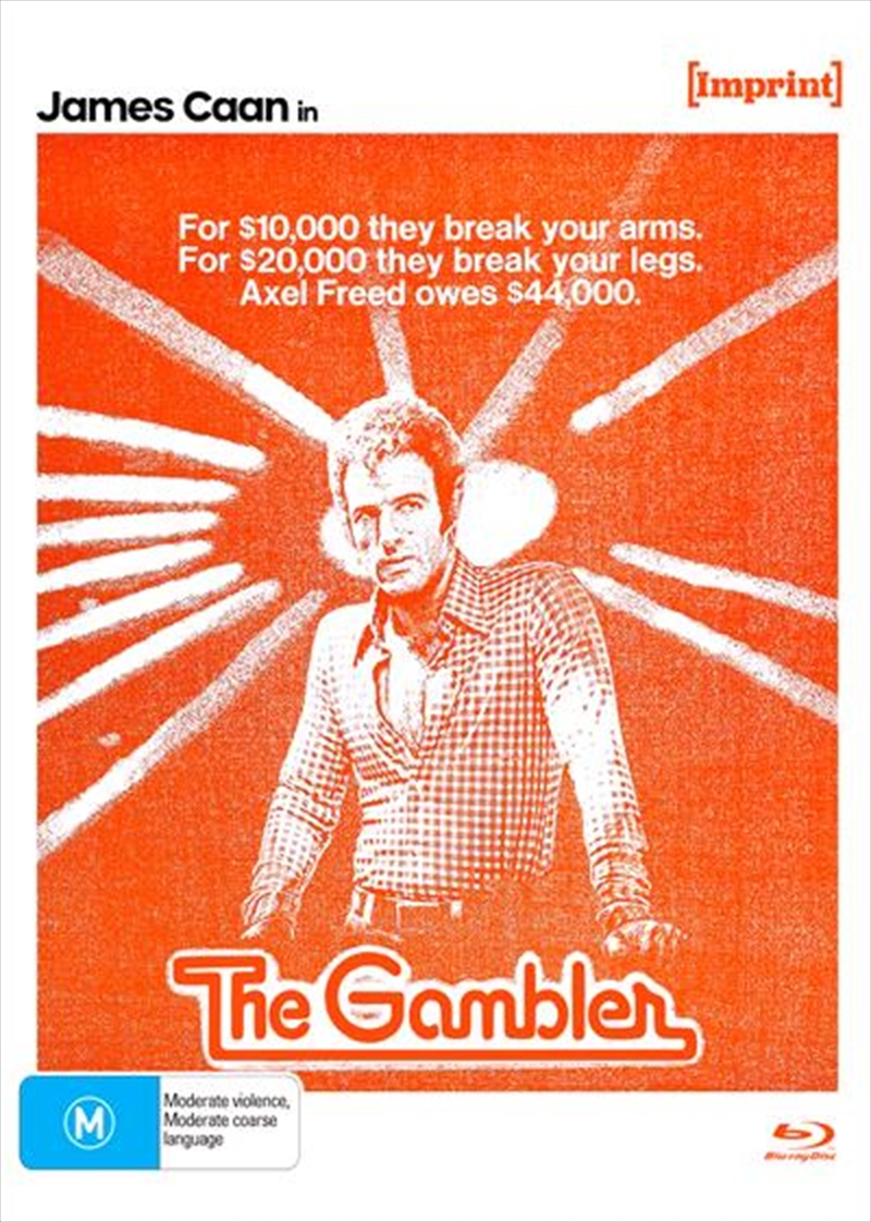 Gambler   Imprint Collection 49, The   Blu-ray