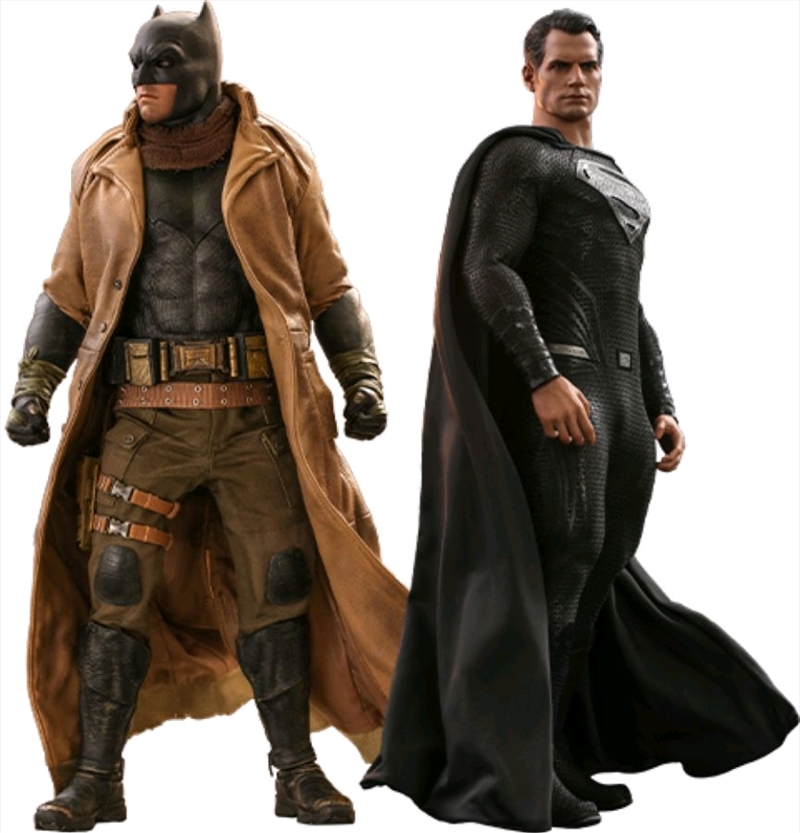 """Justice League Movie - Knightmare Batman & Superman 1:6 Scale 12"""" Action Figure Set   Merchandise"""