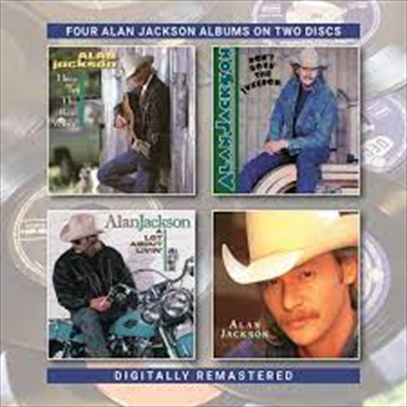 Here In The Real World / Don't Rock The Jukebox / A Lot About Livin (&A Little Bout Love) / Who Am I | CD