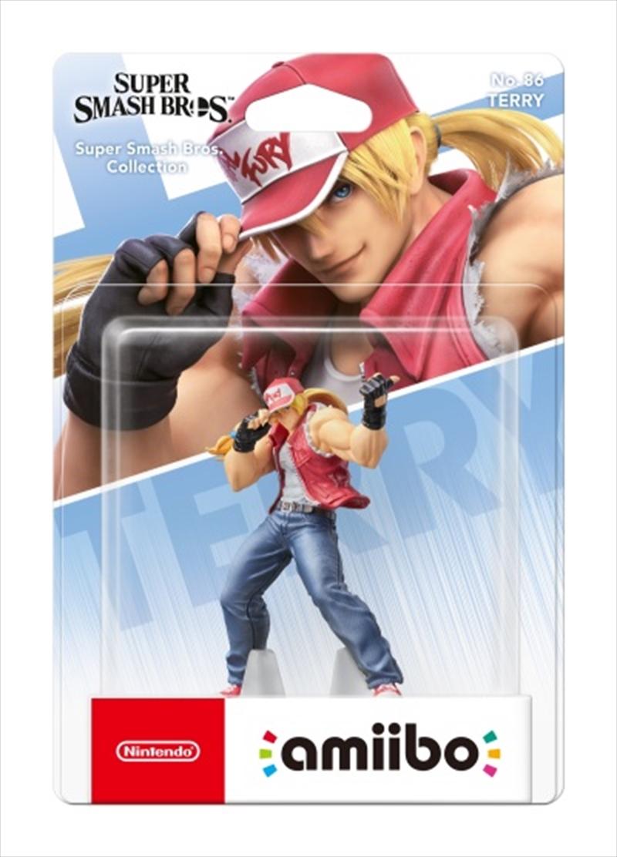 Nintendo amiibo Terry (Super Smash Bros Collection)   Accessories
