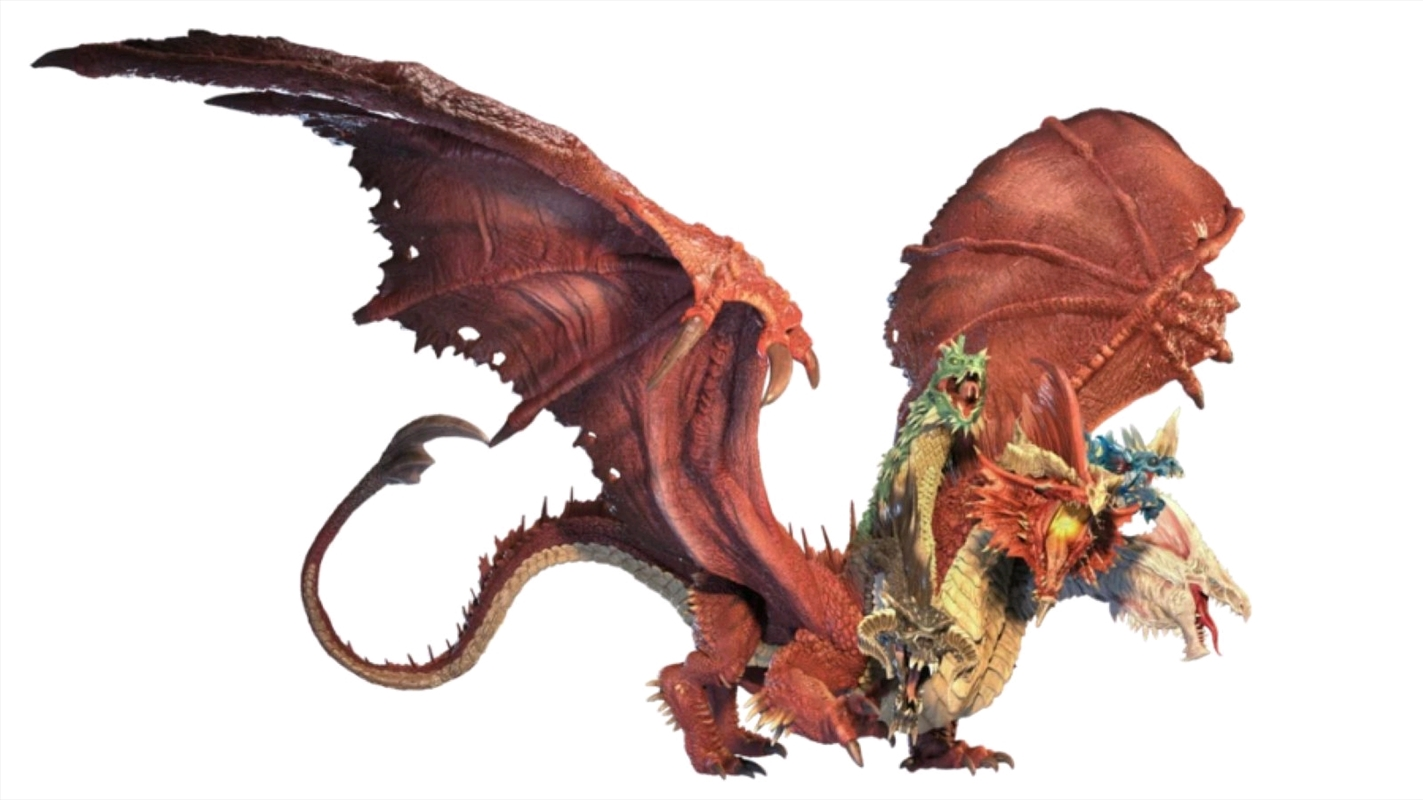 Dungeons & Dragons - Icons of the Realms Gargantuan Tiamat Figure   Merchandise