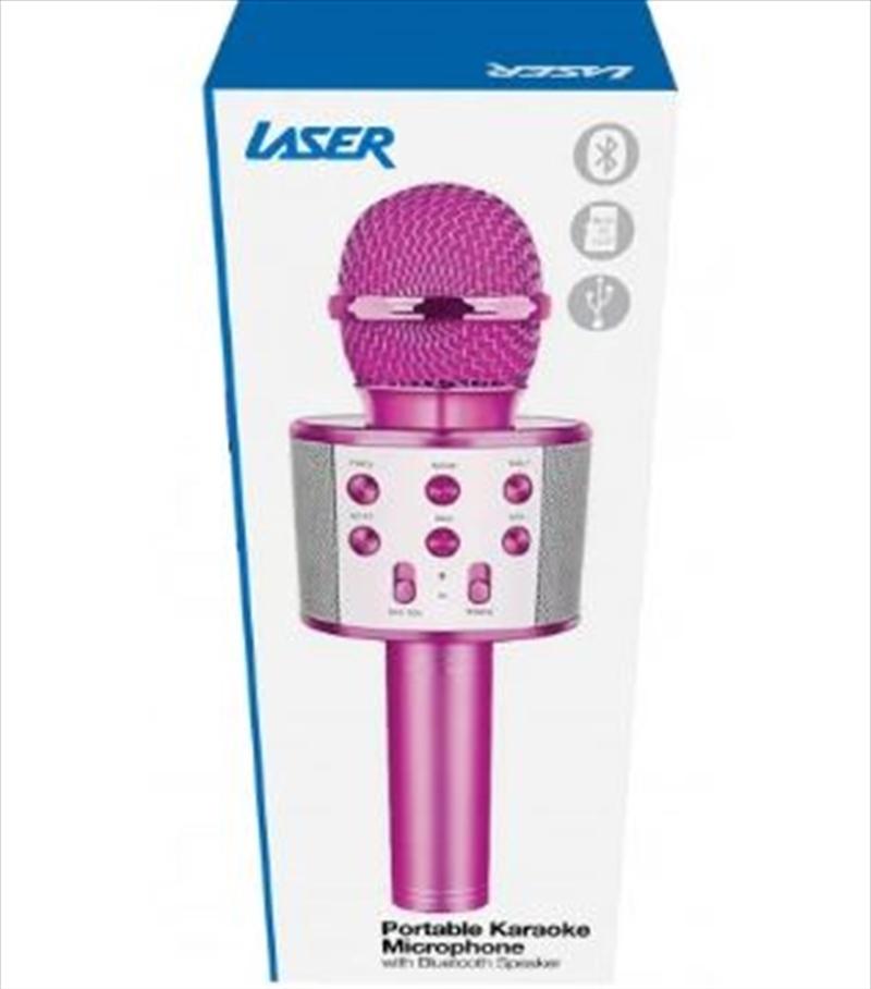Led Karaoke Microphone Purple | Hardware Electrical