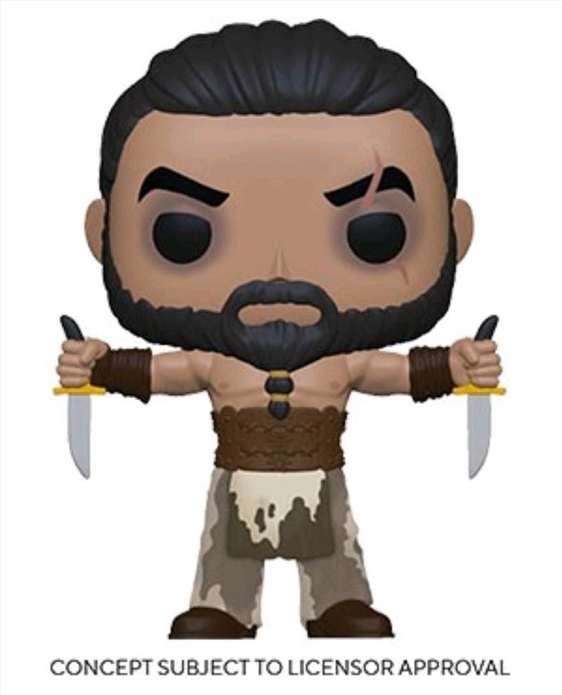 Game of Thrones - Khal Drogo with Daggers Pop! Vinyl | Pop Vinyl
