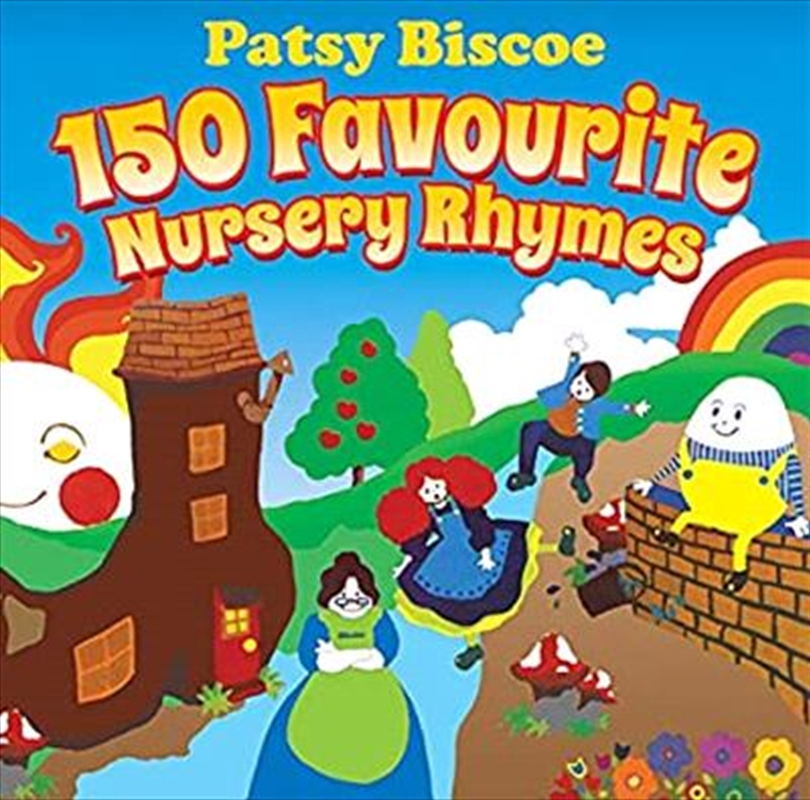 150 Favourite Nursery Rhymes   CD