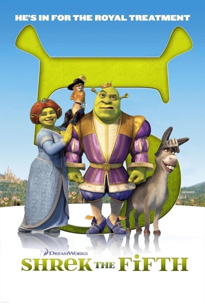 Shrek The Fifth | DVD